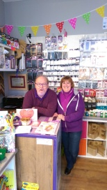 Nick & Wendy at Artie Craftie