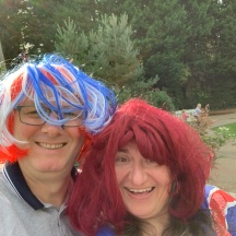 Raising Funds at Cwnbran Boating Lake for MNDA