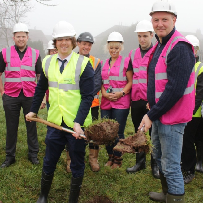 Sod Cutting at Garndiffaith